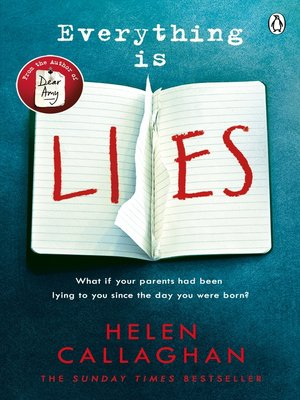 cover image of Everything Is Lies