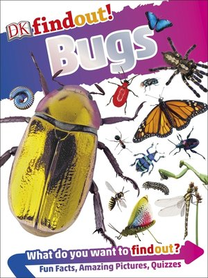 cover image of DKfindout! Bugs