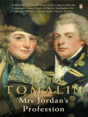 cover image of Mrs Jordan's Profession