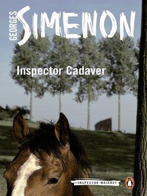 cover image of Inspector Cadaver