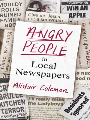 cover image of Angry People in Local Newspapers