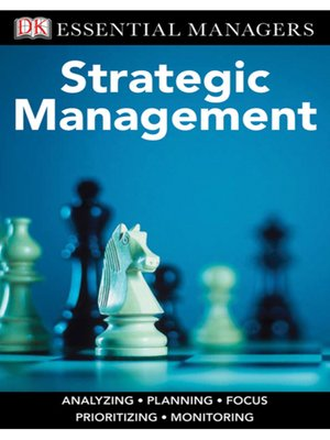 cover image of Strategic Management