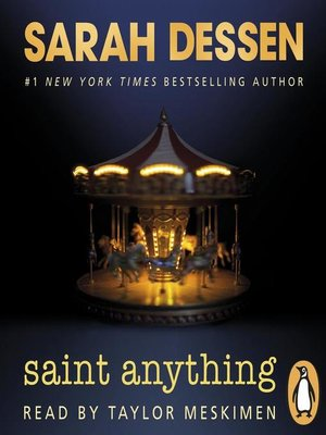 cover image of Saint Anything