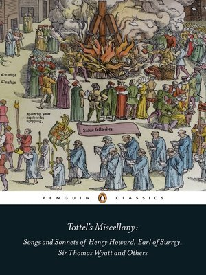 cover image of Tottel's Miscellany
