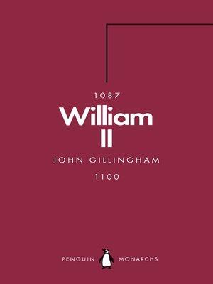 cover image of William II (Penguin Monarchs)