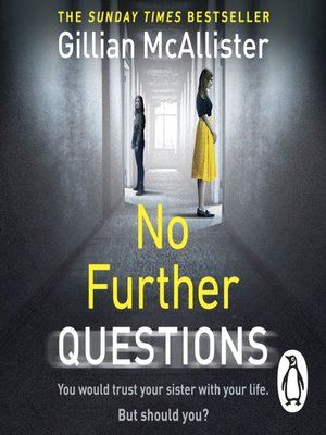 cover image of No Further Questions
