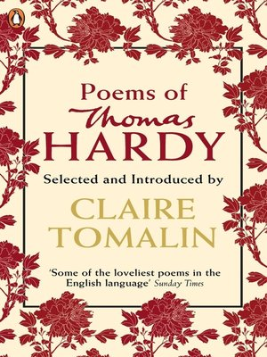 cover image of Poems of Thomas Hardy