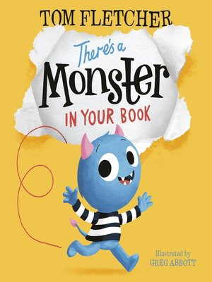 cover image of There's a Monster in Your Book