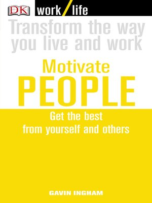 cover image of Work/Life:  Motivate People