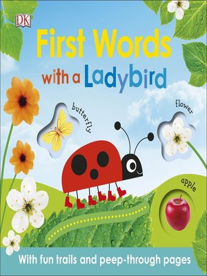 cover image of First Words with a Ladybird