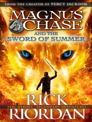 Cover Image Of Magnus Chase And The Sword Summer