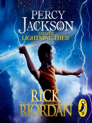 cover image of Percy Jackson and the Lightning Thief (Book 1)