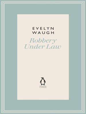 cover image of Robbery Under Law (12)