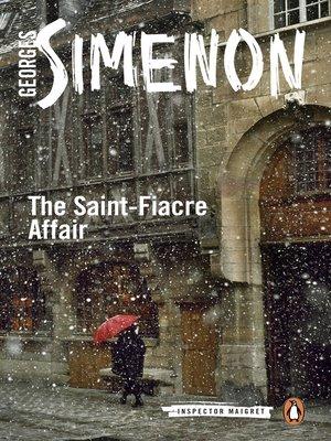 cover image of The Saint-Fiacre Affair