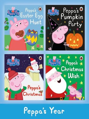 cover image of Peppa's Year