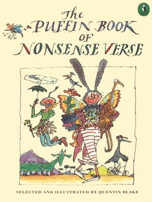 cover image of The Puffin Book of Nonsense Verse
