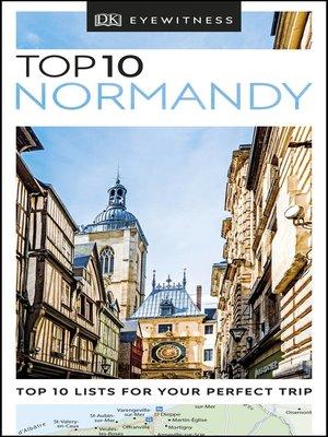 cover image of DK Eyewitness Top 10 Normandy