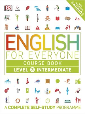 cover image of English for Everyone Course Book Level 3 Intermediate