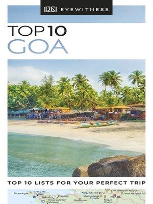 cover image of DK Eyewitness Top 10 Goa