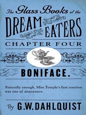 cover image of The Glass Books of the Dream Eaters (Chapter 4 Boniface)