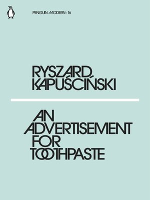 cover image of An Advertisement for Toothpaste