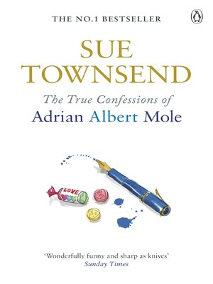 cover image of True Confessions of Adrian Albert Mole