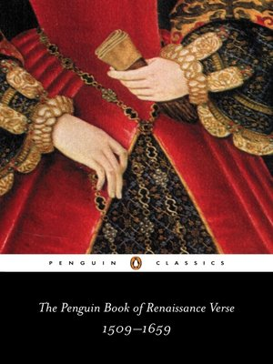 cover image of The Penguin Book of Renaissance Verse