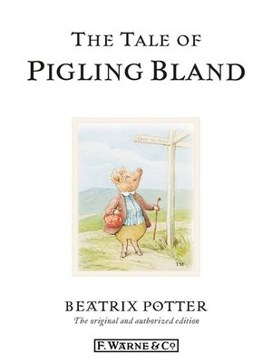 cover image of The Tale of Pigling Bland