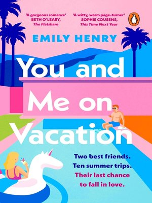 cover image of You and Me on Vacation