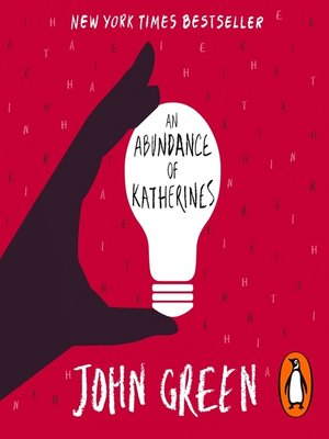 Image result for an abundance of katherines cover