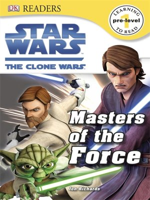 cover image of Star Wars: The Clone Wars: Masters of the Force