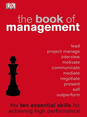 cover image of The Book of Management
