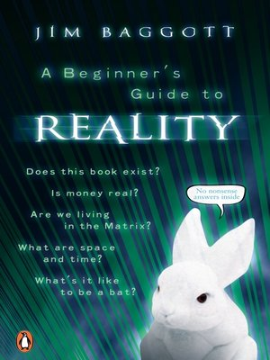 cover image of A Beginner's Guide to Reality