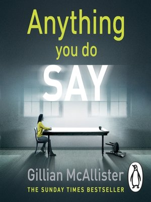 cover image of Anything You Do Say