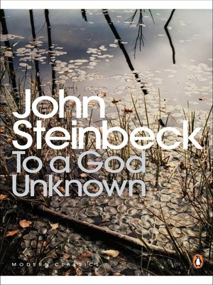 cover image of To a God Unknown