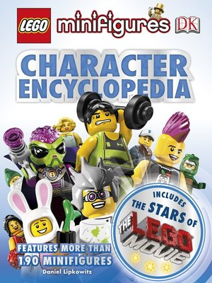 cover image of LEGO® Minifigures Character Encyclopedia