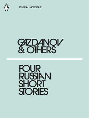 cover image of Four Russian Short Stories