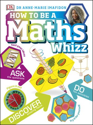 cover image of How to be a Maths Whizz