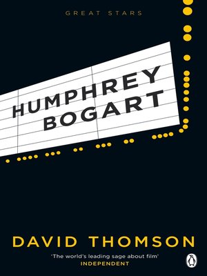 cover image of Humphrey Bogart (Great Stars)