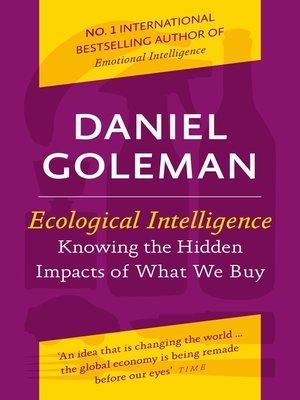 Daniel Goleman - Bol.com