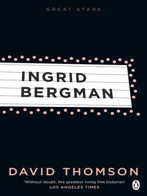 cover image of Ingrid Bergman (Great Stars)