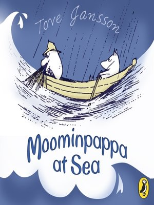 cover image of Moominpappa at Sea