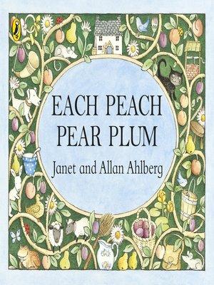 cover image of Each Peach Pear Plum
