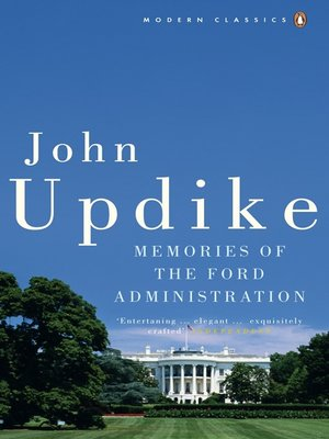 cover image of Memories of the Ford Administration