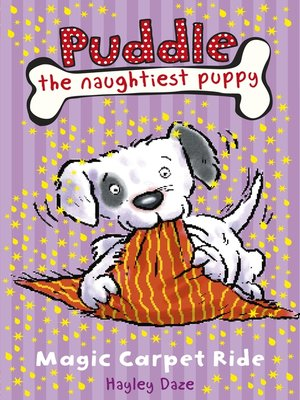 cover image of Puddle the Naughtiest Puppy:  Magic Carpet Ride