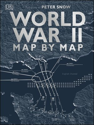 cover image of World War II Map by Map