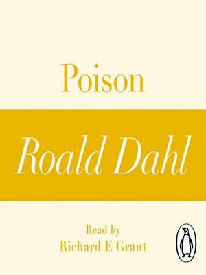 cover image of Poison (A Roald Dahl Short Story)