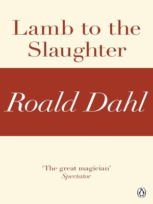 cover image of Lamb to the Slaughter