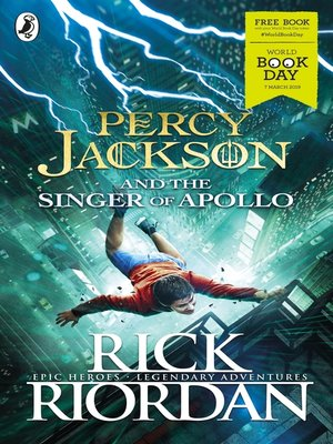 cover image of Percy Jackson and the Singer of Apollo