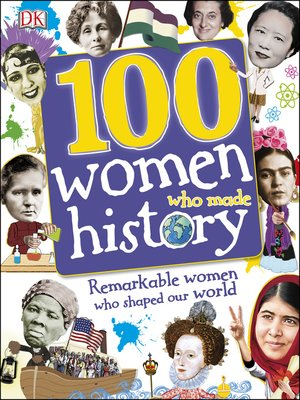 cover image of 100 Women Who Made History
